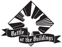 Battle of the Buildings Clipart