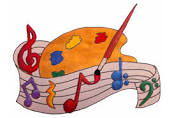 art and music clip art