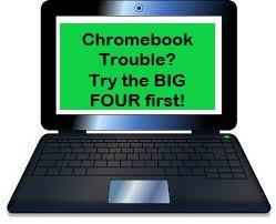 Chromebook trouble?