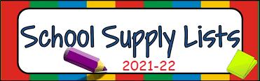 School Supply List image