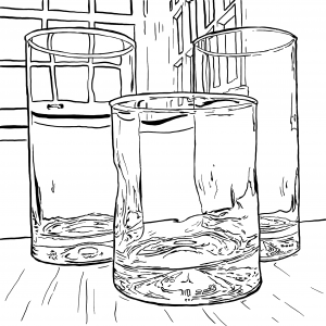 Glasses_digital drawing_Zachary Greene