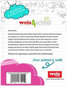 Weis 4 School Flyer