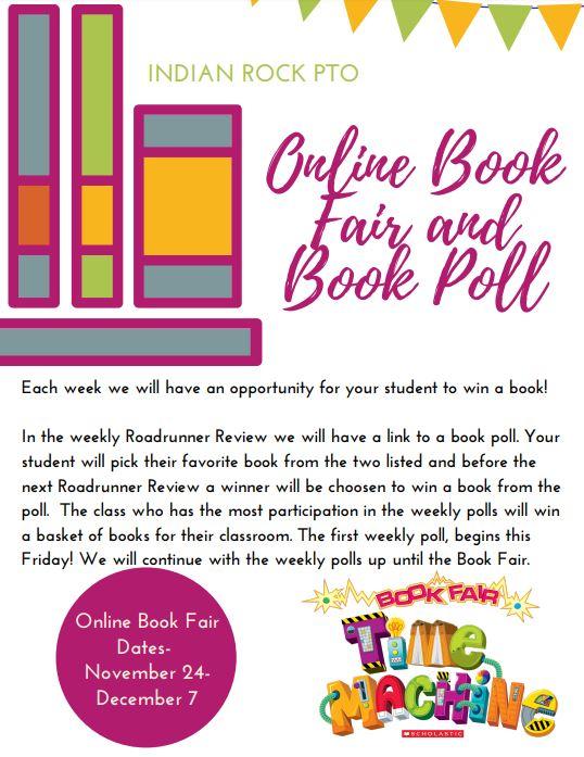 online book fair & book poll