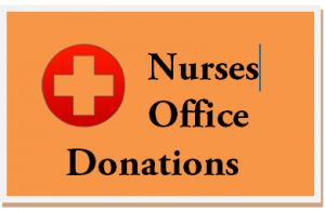 Nurse's Office Donations