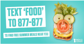 TXT FOOD to 877-877