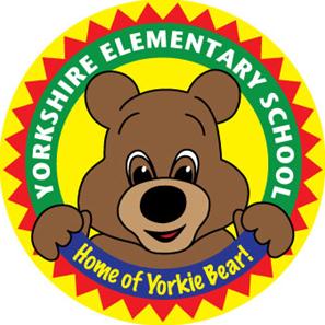 Yorkie Bear Logo