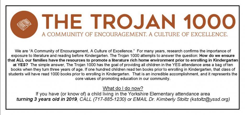 The Trojan 1000 Web