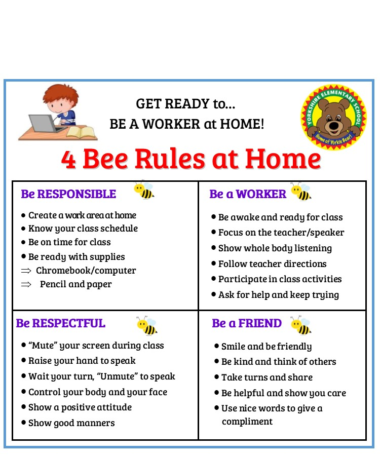 4 Bee Rules at Home